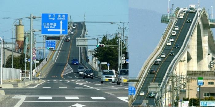 Bak Roller Coaster, Jembatan Ini Sangat Ekstrem!