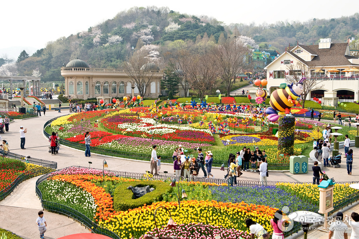 Mengunjungi Theme Park