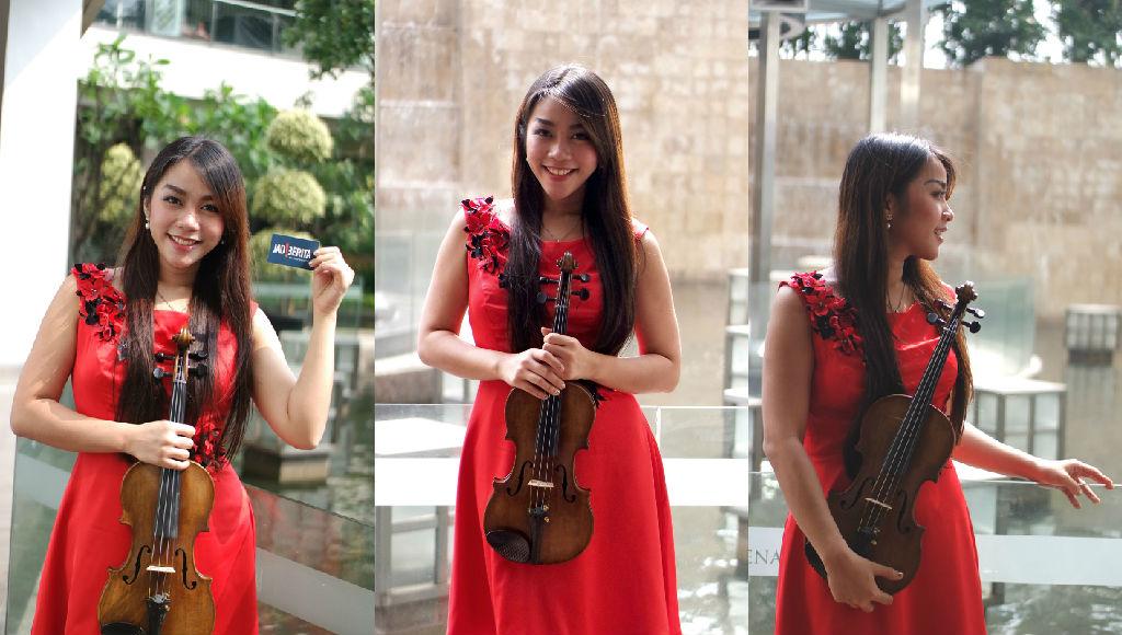 Marcella Violinist, Sosok Cantik Berteman Biola di Pundaknya