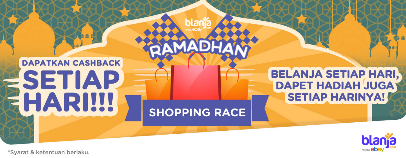 Shopping Race di blanja.com