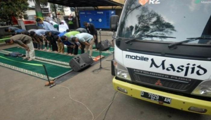 Pertama di Indonesia, Masjid Portabel