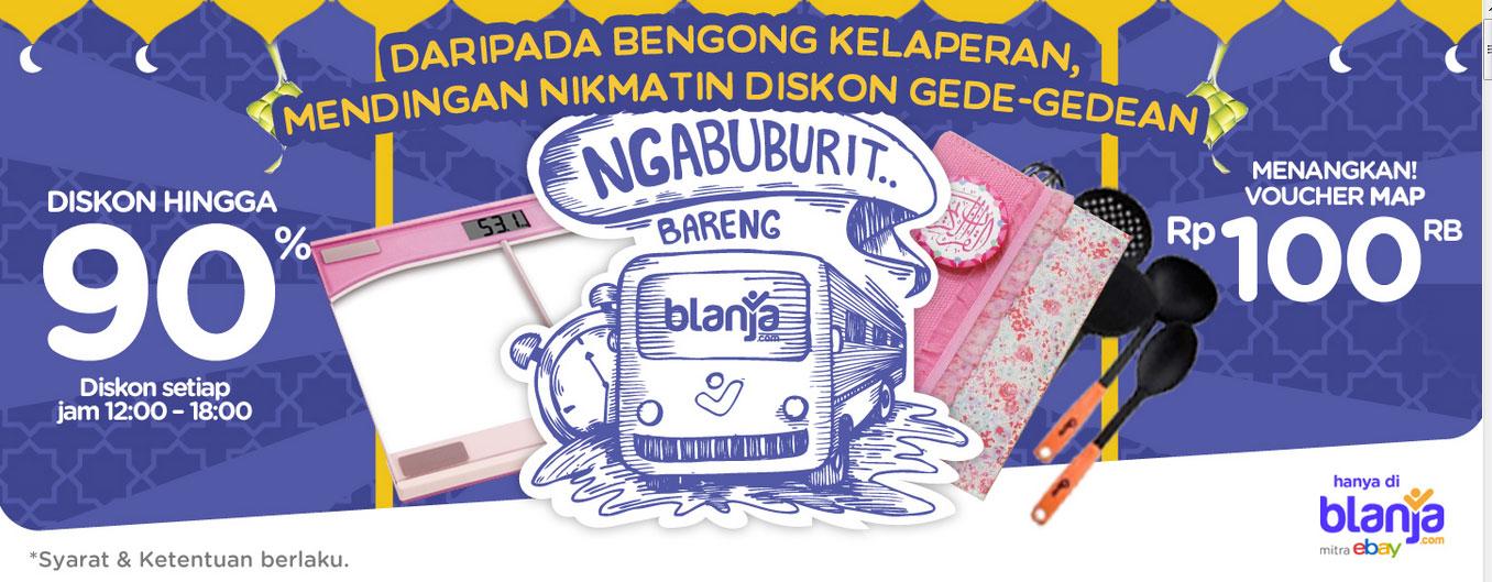 Ngabuburit Bareng blanja.com