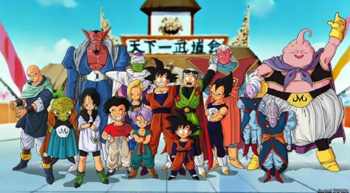 Evolusi Tokoh-tokoh Dragon Ball
