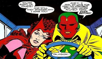 Vision dan Scarlet Witch (Muvila)