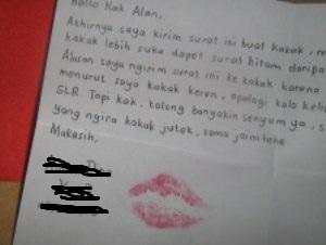 Surat cinta (Kaskus)