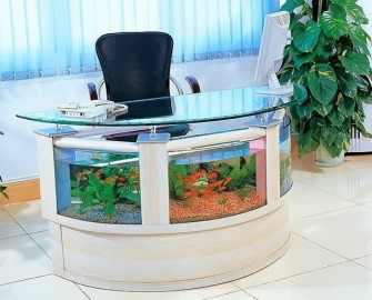 Aquarium Office Table (withgood.co)