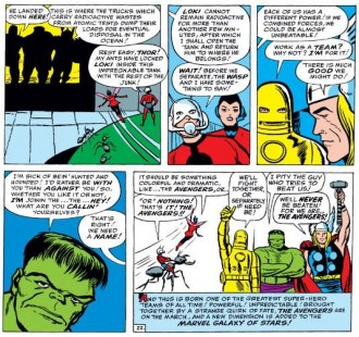 Detik-detik pembentukan Avengers (Duniaku)