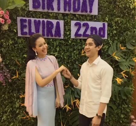 Al Ghazali datang di perayaan ulang tahun Elvira (kapanlagi)