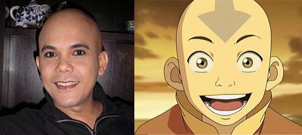 Ozy Syahputra mirip Aang (duniaku.net)