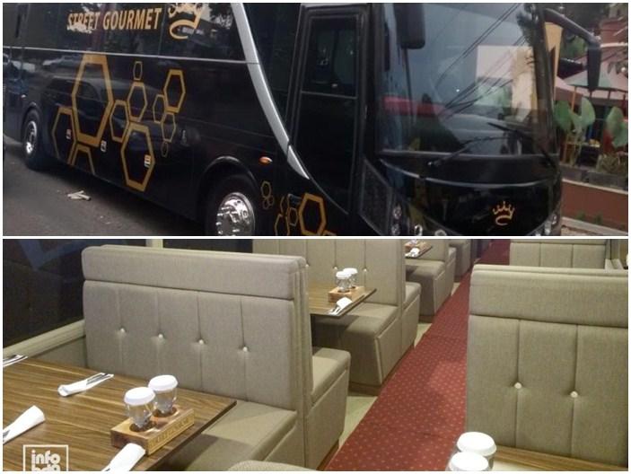 Nikmati Makan di Resto dalam Bus Sambil Keliling Bandung