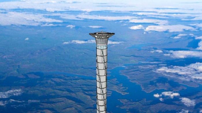 Gedung Tertinggi di Dunia, Atapnya Tembus Angkasa