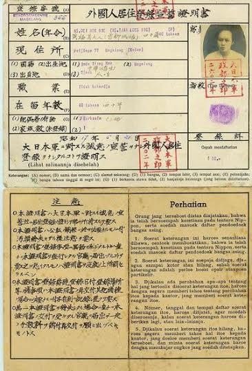 KTP zaman Jepang (Brilio)