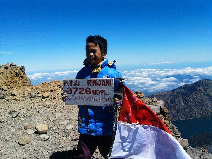 Pendaki Cilik Penakluk Gunung Indonesia Jadi Berita