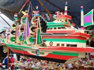 Miniatur kapal pesiar (Kaskus)
