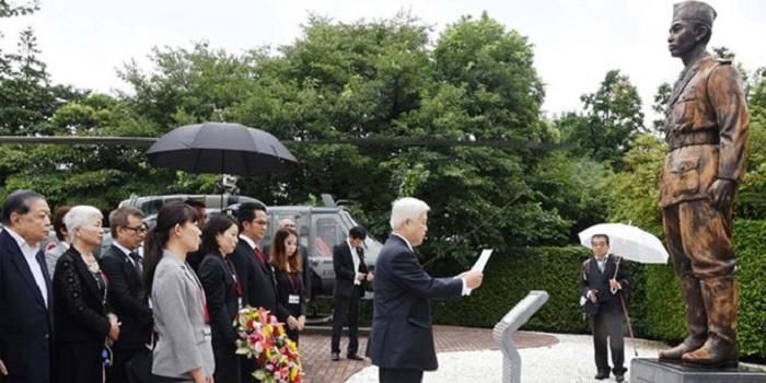 Patung Jenderal Sudirman Dihormati di Jepang