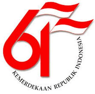 Logo HUT RI ke-61 (Aureaperfume)