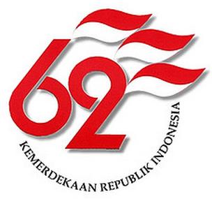 Logo HUT RI ke-62 (Aureaperfume)
