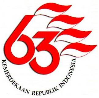 Logo HUT RI ke-63 (Aureaperfume)