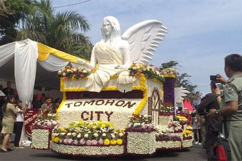Festival Bunga Tomohon (bisnis.com)