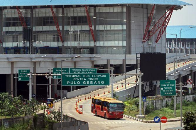 Terminal Pulo Gebang (Metrotvnews)