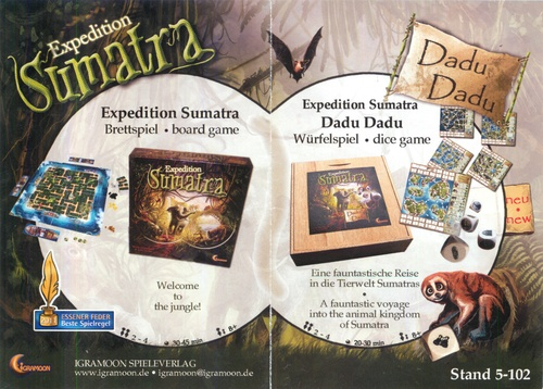 Board Game Expedition Sumatra (Boardgame)