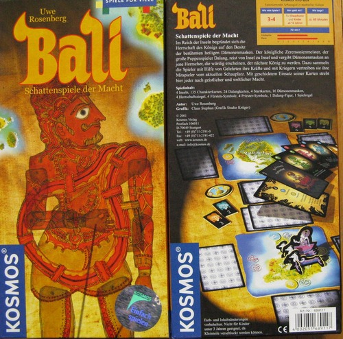Board Game Bali (Boardgame)