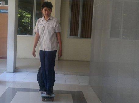 Uji coba Skatebag (Detik)