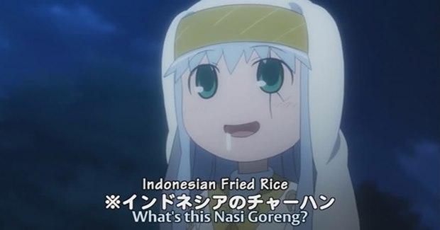 Nasi goreng di anime To Aru Majutsu no Index Special (Kaskus)