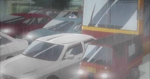 Suasana kota Jakarta di anime Chuunibyou Demo Koi ga Shitai (Kaskus)