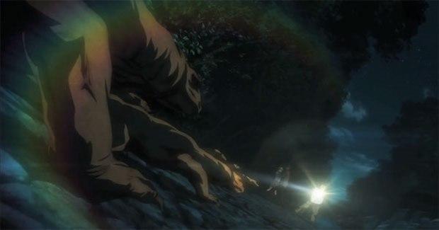 Komodo di anime Btoom (Kaskus)