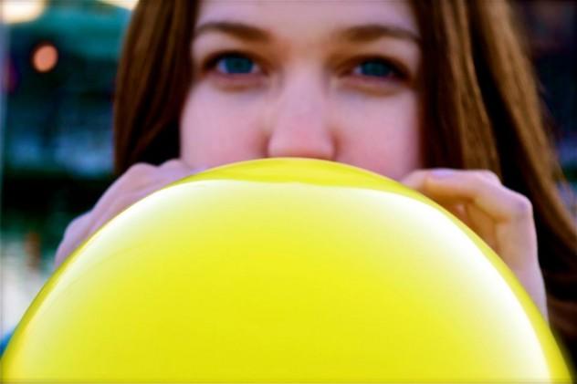 Ilustrasi pembengkakan seperti balon (Verses of Universe)