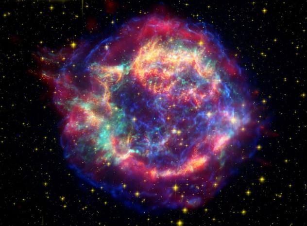 Ilustrasi luar angkasa (Verses of Universe)