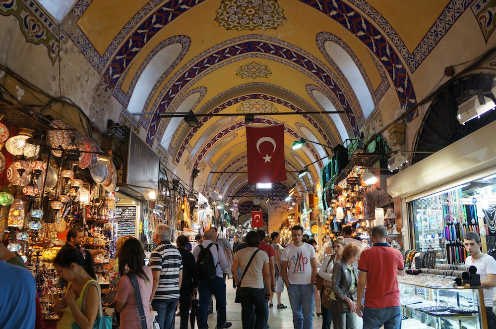 Grand Bazaar Turki Jadi Pasar Tertua di Dunia