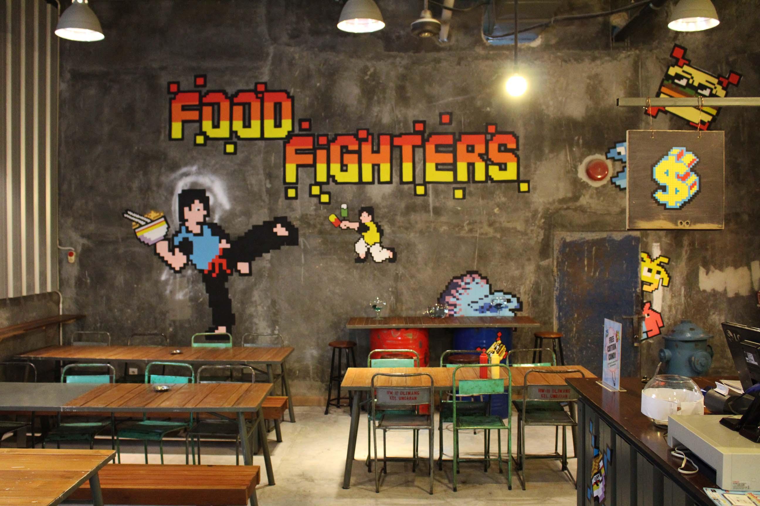 Food Fighters, Spot Nongkrong Pecinta Game Arcade