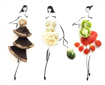 Ilustrator fashion food (twitter.com)