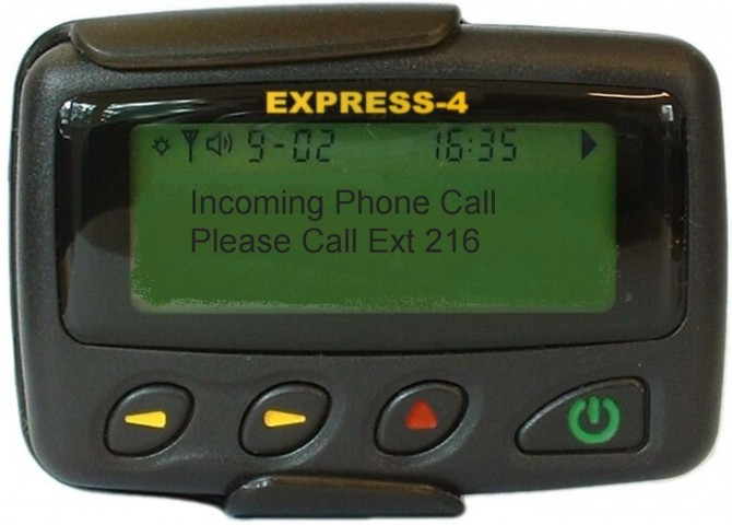 Pager (Boombastis)