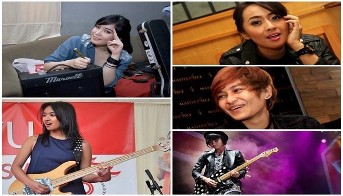 5 Gitaris Tercantik di Indonesia