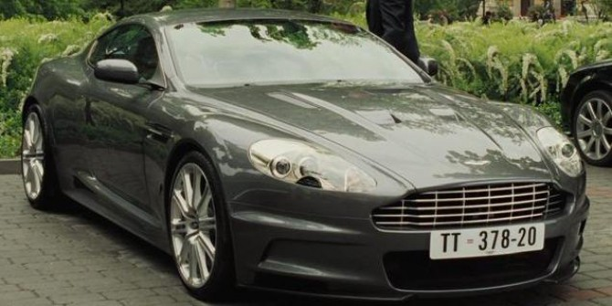 Aston Martin DBS V12 (The Richest)