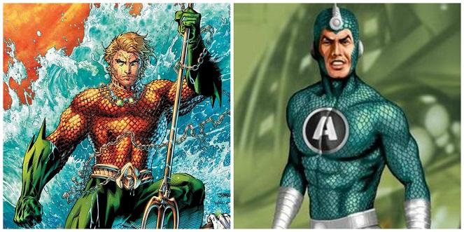 Aquaman dan Aquanus (Boombastis)