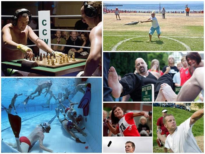 5 Olahraga Paling Konyol di Dunia