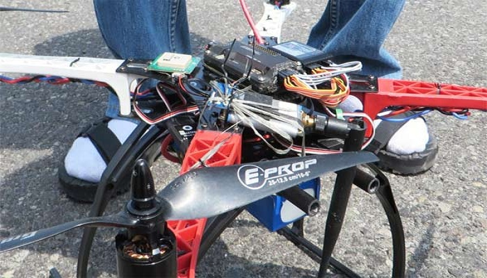 Mahasiswa UI Ciptakan Drone Pemadam Kebakaran