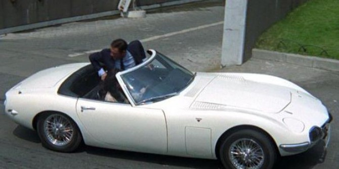 Toyota 2000GT (The Richest)