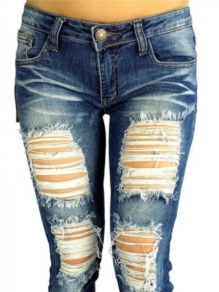 Ripped Jeans (Condenast)