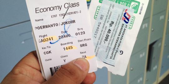 Tiket perjalanan (backpackgo)