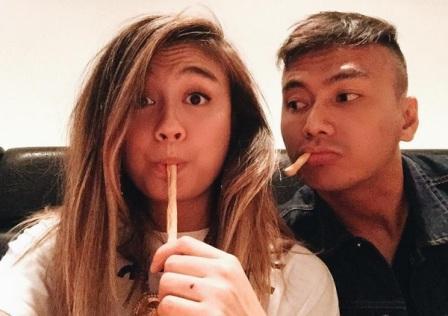 Agnez Mo dan Saputra Wijaya (instagram)