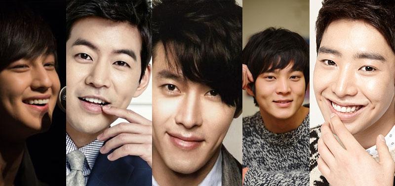 5 Aktor Korea Tampan Ini Berlesung Pipi Manis