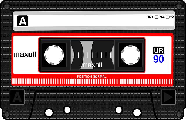 Compact Cassette (Pixabay)