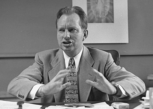 L. Ron Hubbard (Wikipedia)