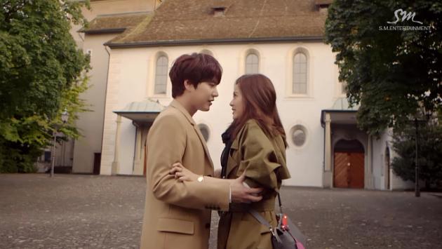 Super Junior Kyuhyun dan Go Ah Ra (www.soompi.com)