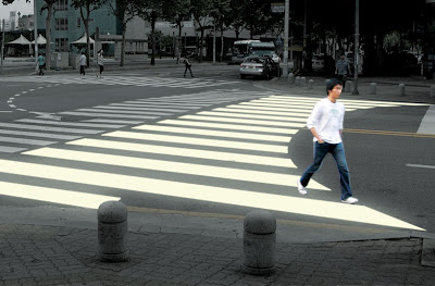 Curving Ego Crosswalk (blogspot)